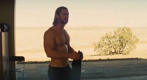 Chris HemsworthThorShirtless