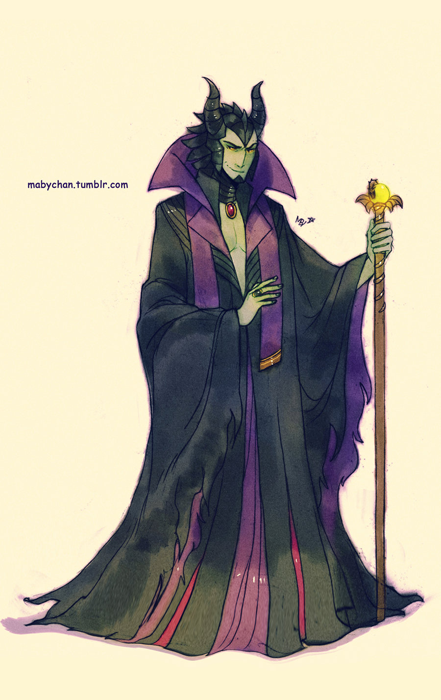 GenderbentMaleficent